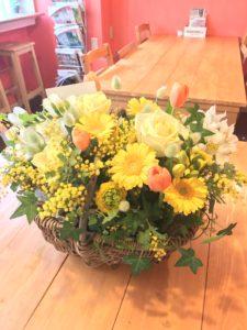 新横浜周辺 美容室開店祝いの花ギフト