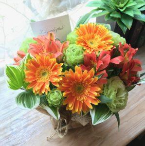 美容室に飾る花 定期便