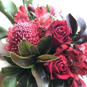 男性美容師さんのいる美容室に飾るお花
