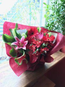 事務所移転祝いのお花フラワーアレンジメント