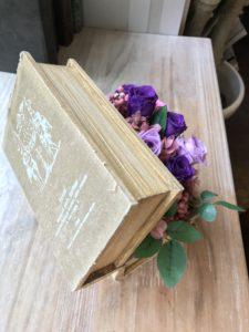 BOOK型のBOXアレンジメント
