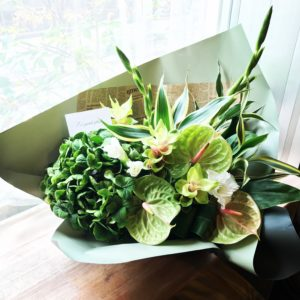 美容室の開店祝いのお花