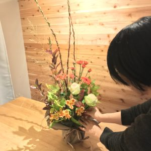 作品お花教室横浜