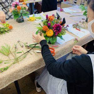 体験教室 お花